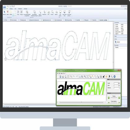 Visuel logiciel AlmaCAM